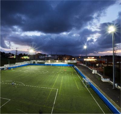 Iluminación óptima para Instalaciones deportivas